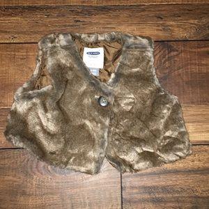 Old Navy Jackets & Coats - Fur vest
